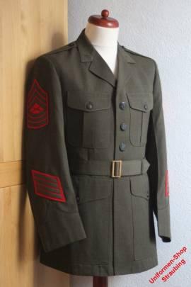 Pos. A34_0003: USMC Dress Green Jacke US-Gr. 42L (gebraucht)  - Bild vergrößern