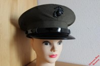 Pos. A42_0020: USMC Mütze US-Gr. 7 1/8 (gebraucht)