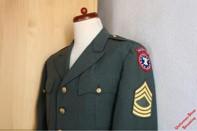Pos. A80_0003: US Army Dress Green Jacke US-Gr. 46S (gebraucht)